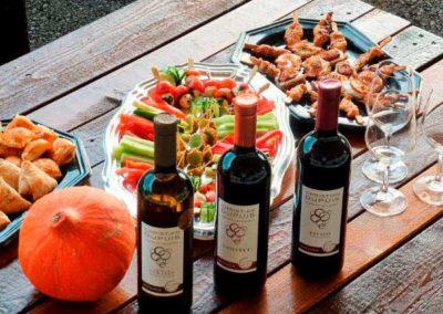 Dégustation de vins et tapas